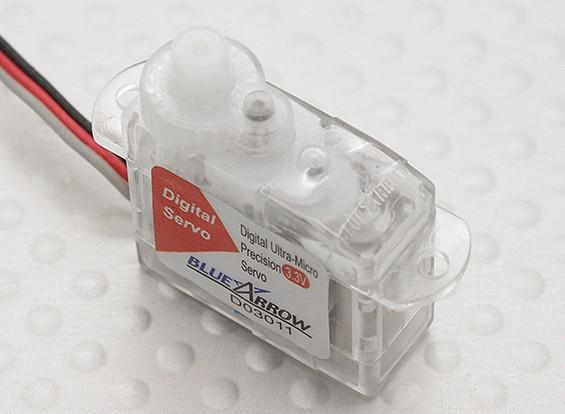 Single Cell 3.2g / .16kg / .10sec Digitale Ultra-Micro-Servo