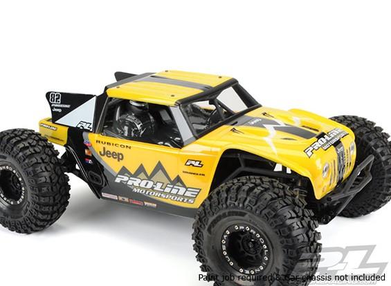 Pro-Line Jeep Wrangler Rubicon Clear Body Shell für Axial Yeti