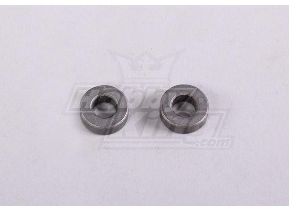 Metallbuchse 6x12x4mm (2ST / Beutel) - A2016