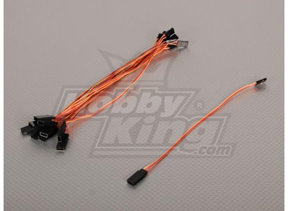 20cm Servokabel (JR) 32AWG Ultra Light (10pcs / bag)