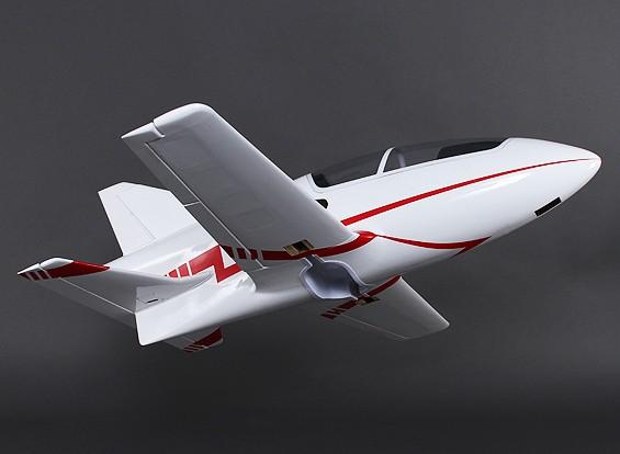 BD-5 Fiberglas Sport 90mm Jet w / Flaps 1200mm (ARF)