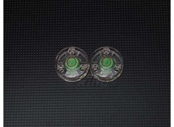 Button-Spirit Level (2pc)