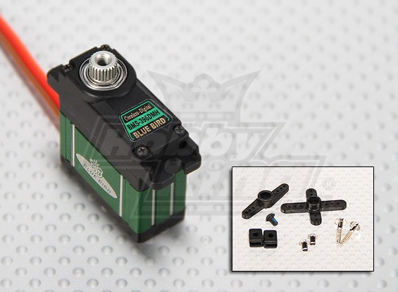 BMS-396DMH Hochleistungs-MG Digital-Mini Servo 2,5 kg / 0.16sec / 22.5g