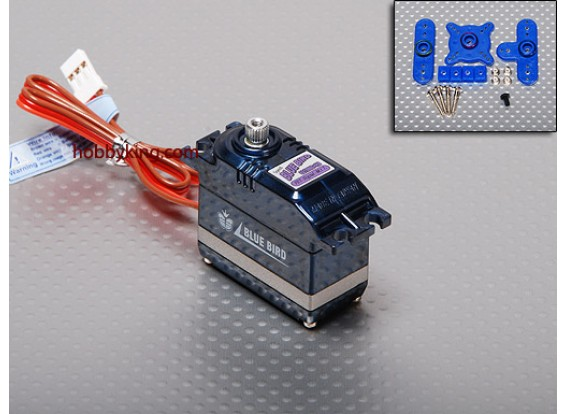 BMS-621DMGplusHS High Speed ​​Digital Servo (MG) 7.2kg / .10sec / 46,5 g