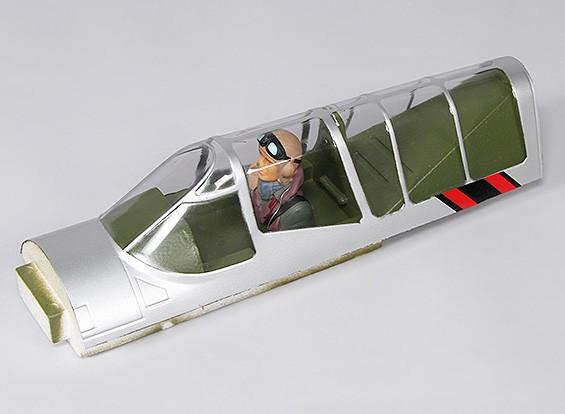 P-40N (Silber) 1700mm - Ersatz Canopy