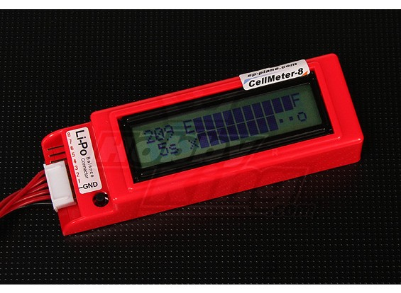 Cellmeter 8 für Lithium-Polymer-Packs