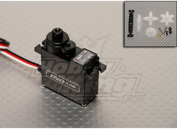 HGD 251 Digital-MG Coreless Heli Servo - 24,4 g / .12s / 5.6kg