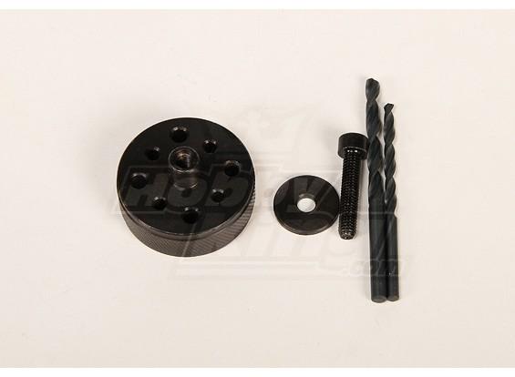 Prop & Back-Plate Bohrschablonen für HP-50 \ DA50 \ DLE50 \ DLE55 \ JC51 \ DLE30