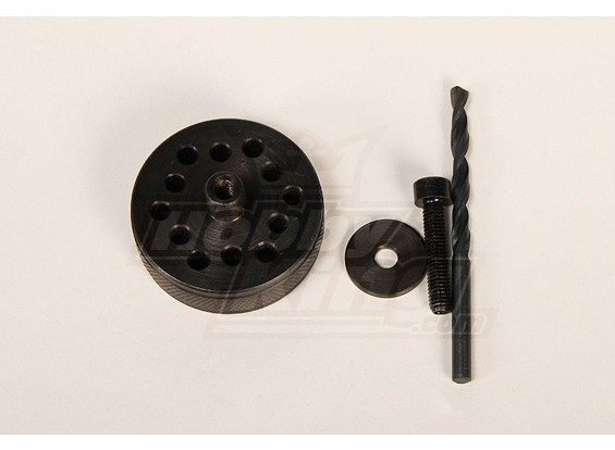Prop & Back-Plate Bohrschablonen für DA100 & 150 \ DLE111 \ 3W50-170 \ TMM53-106
