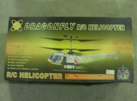 SCRATCH / DENT Libellen-Hubschrauber (AUS Warehouse)