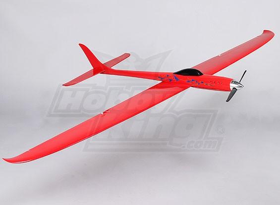 Drache-Rot 1228mm Pylon Racer Fiberglas (PNF)
