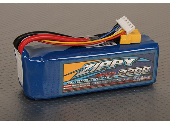 ZIPPY FlightMax 2200mAh 4S1P 20C