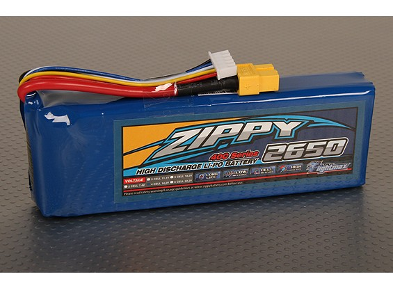ZIPPY FlightMax 2650mAh 4S1P 40C