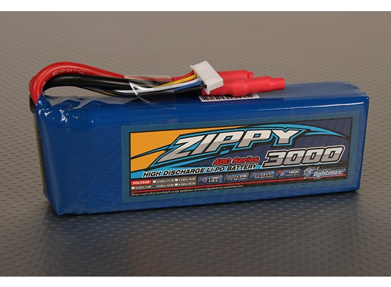ZIPPY FlightMax 3000mAh 4S1P 40C