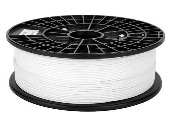 Print-Rite 3D-Drucker Flexible Filament 1.75mm PLA 500G Spool (weiß)
