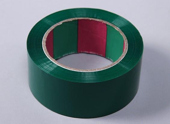 Flügelband 45mic x 45 mm x 100 m (Wide - Grün)