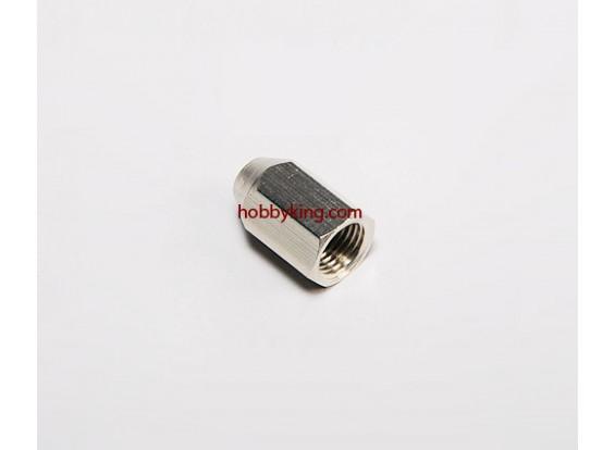 Messingmutter für Spinner M10x1-M4 (1pc)