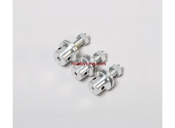 Prop-Adapter w / Stahlmutter M5x2.3mm Welle (Madenschraube Type)