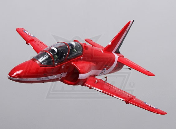 Red Arrows Hawk 35mm EDF Micro Jet EPO (PNF)
