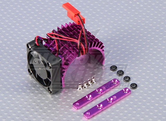 Heatsink mit Wärmeableitung Lüfter 540 / 34mm Motor