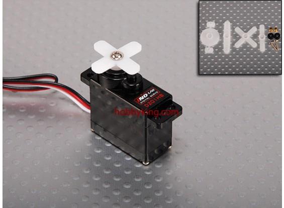 HGD digital 201 Carbon-Getriebe BB Alloy - 9,1 g / .07s / .9kg