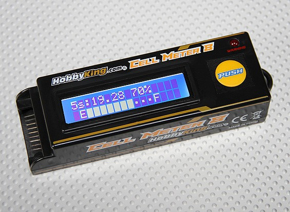 Hobbyking ™ Zellzähler 8 - Lipoly Battery Checker