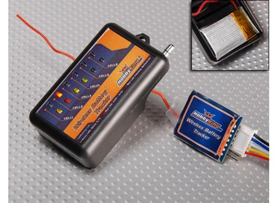 Hobbyking Wireless-Batterie Tracker w / Free Batterie 869.5Mhz
