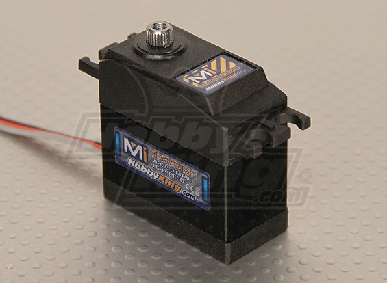 Hobbyking ™ Mi Digital High-Speed Servo MG 5.60kg / 0.04sec / 61g
