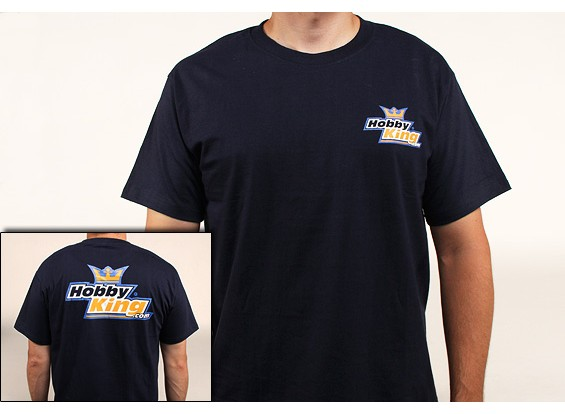 Hobby-König T-Shirt Marineblau (Large)