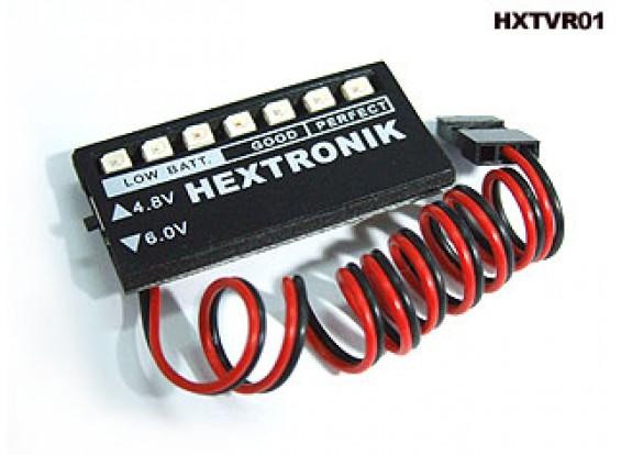 hexTronik Spannungsanzeige