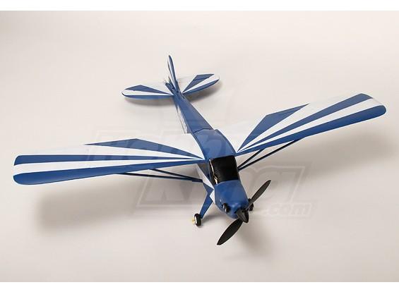 J3 Blau Flugzeug Model Kit