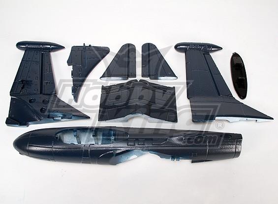 F9-F2 Blue Angels EDF Kampfjet Kit (EPO)