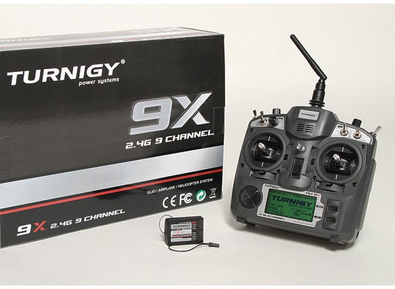 Turnigy 9X 9Ch Transmitter w / Module & 8ch Empfänger (Mode 2) (v2 Firmware)