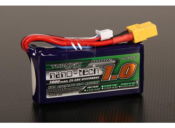 Turnigy Nano-Tech-1000mAh 3S 25 ~ 50C Lipo-Pack