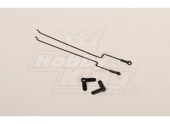 227A Twingo Ersatz Push / Pull-Kabelsatz
