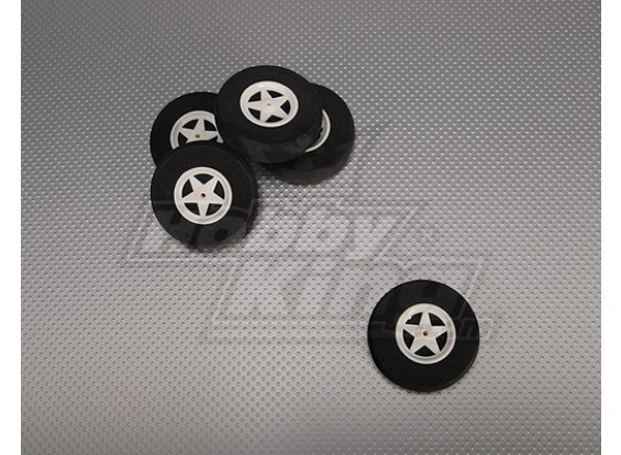 5-Speichen Felgen stoßabsorbierendes D65xH18mm (5pcs / bag)