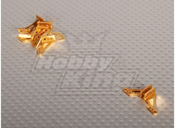 Alloy Horn L13.5 x H14mm (5 Paare / bag)