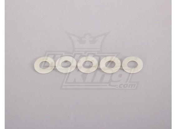 Nylon Unterlegscheibe 10mm (5 Stück)