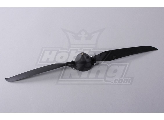 Faltpropeller W / Hub 45mm / 4mm Welle 13.5x7 (1pc)