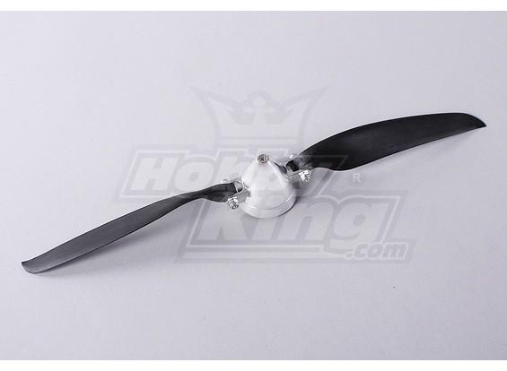 Folding Propeller Assembly 12x10 (Alloy / Nabe Spinner) (1pc / bag)