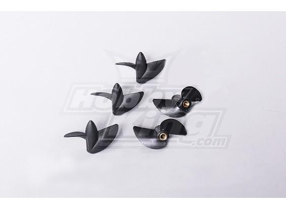 2-Blatt-Boot Propellers 45X31.5 (Rückwärts) (5pcs / bag)