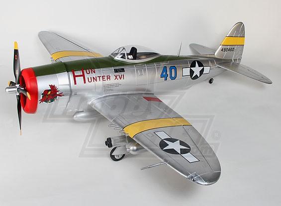 P-47 mit Klappen, elektrische zieht sich zurück und Lampen, 1600mm (PNF)