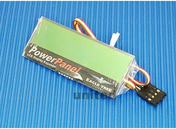 Micropowerpanel LCD-Display