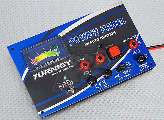Turnigy Power Panel MkII mit Amperemeter und Remote-Glow-Ladegerät
