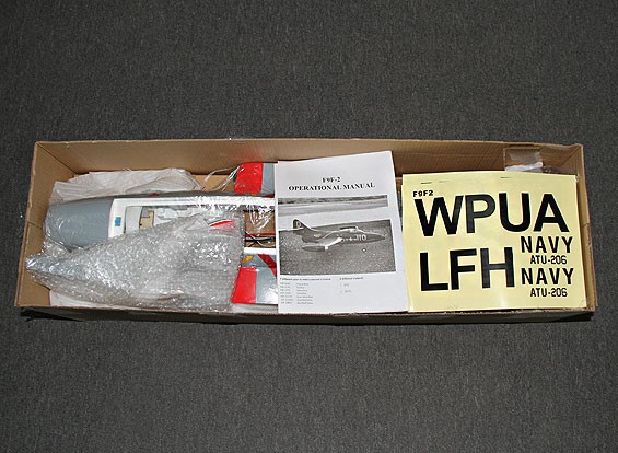 SCRATCH / DENT - F9F Panther GRW Hand Launch-Version (PNF)
