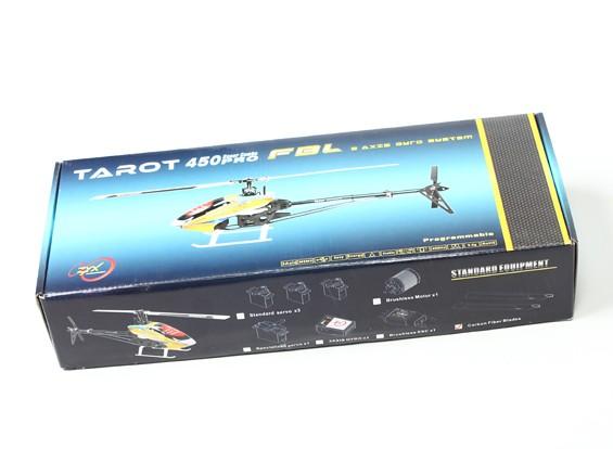 SCRATCH / DENT - TAROT 450 PRO V2 FBL KIT Silber