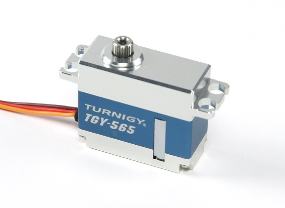 SCRATCH / DENT - Turnigy TGY-565MG HV Digitale Metall umkleidet High Speed ​​Servo 40g / 5kg / 0.05sec
