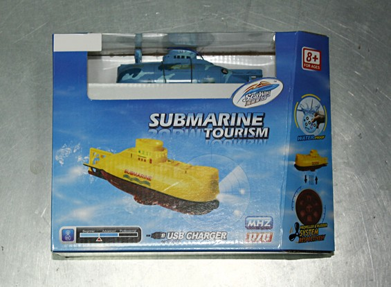 SCRATCH / DENT - Miniatur-6ch RC Submarine (40MHz)