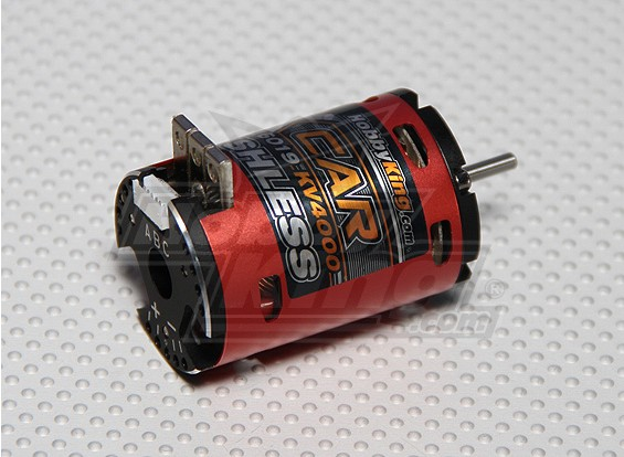 Hobbyking X-Car 8.5 Schalten Sensored Brushless Motor (4000Kv)