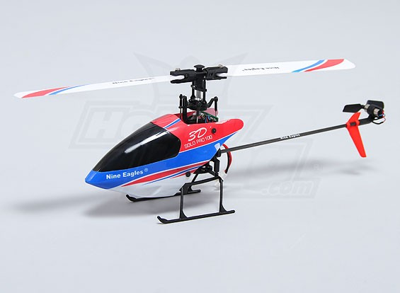 Solo PRO 100 3G Flybarless 3D Micro Helicopter (AUS-Stecker) (RTF)